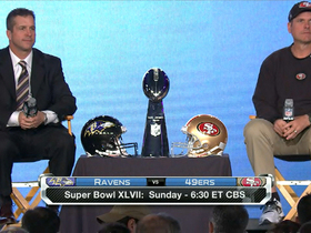 Watch: Harbaugh brothers press conference