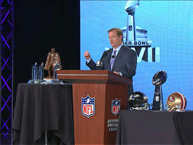 Watch: Goodell on the next generation of the Rooney Rule
