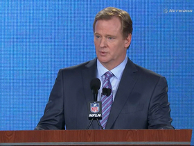 Watch: Goodell: 'I couldn't feel more welcome here'
