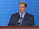 Watch: Goodell: &#039;I couldn&#039;t feel more welcome here&#039;