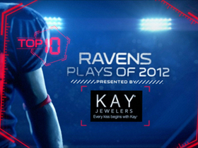 Video - Top 10 Baltimore Ravens plays of 2012