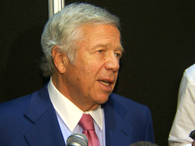 Video - New England Patriots owner Robert Kraft talks about Wes Welker's future