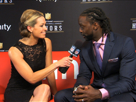 Watch: 'NFL Honors' red carpet: Charles Tillman