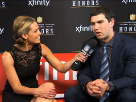Watch: 'NFL Honors' red carpet: Andrew Luck