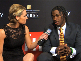 Video - 'NFL Honors' red carpet: Robert Griffin III