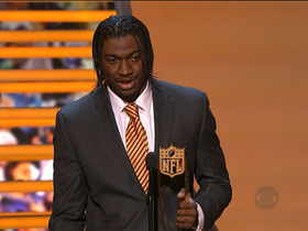 Video - 'NFL Honors': Robert Griffin III named Offensive Player of the Year