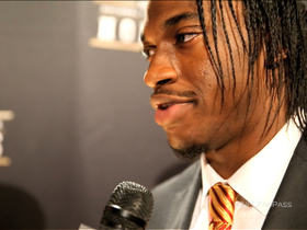 Video - NFL Fan Pass: Washington Redskins quarterback Robert Griffin III backstage at 'NFL Honors'