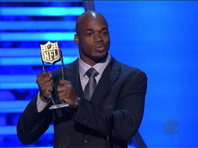 Watch: 'NFL Honors' Fantasy Player of the Year: Adrian Peterson