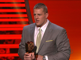 Video - 'NFL Honors': J.J. Watt wins Defensive Player of the Year