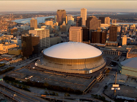 Watch: The Superdome impact