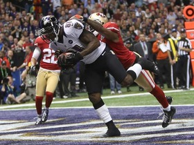 Video - Super Bowl XLVII Can't-Miss Play: Anquan Boldin 13-yard TD catch