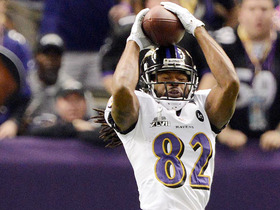 Video - Baltimore Ravens wide receiver Torrey Smith leaping-catch