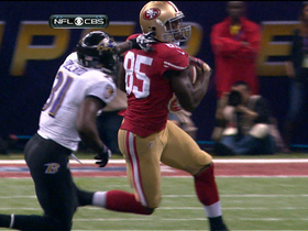 Video - San Francisco 49ers tight end Vernon Davis 29-yard catch