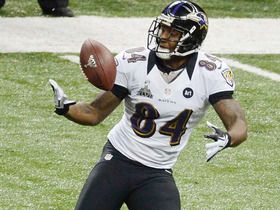Watch: Super Bowl XLVII Can't-Miss Play: Dickson's supreme concentration