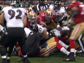 Video - Baltimore Ravens safety Ed Reed intercepts San Francisco 49ers quarterback Colin Kaepernick, fight ensues