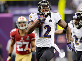 Video - Super Bowl XLVII Can't-Miss Play: Baltimore Ravens wide receiver Jacoby Jones sets record with kickoff return for TD to open 2nd