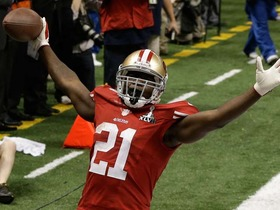 Video - San Francisco 49ers running back Frank Gore 6-yard TD run