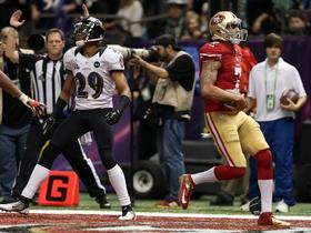 Video - Super Bowl XLVII Can't-Miss Play: San Francisco 49ers quarterback Colin Kaepernick scrambles for TD