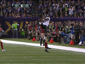 Video - Baltimore Ravens wide receiver Anquan Boldin come up with a crucial conversion