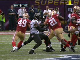 Video - San Francisco 49ers running back Frank Gore 33-yard gain