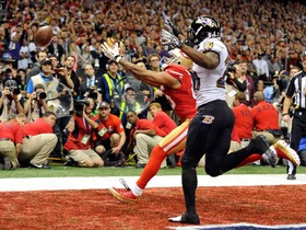 Video - Super Bowl XLVII Can't-Miss Play: Baltimore Ravens stop San Francisco 49ers on fourth down with goal-line stand
