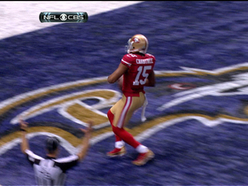 Video - Super Bowl XLVII: San Francisco 49ers wide receiver Michael Crabtree highlights