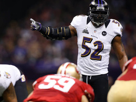 Video - Super Bowl XLVII: Baltimore Ravens linebacker Ray Lewis highlights