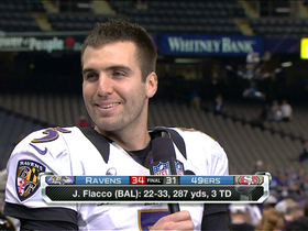 Video - Baltimore Ravens quarterback Joe Flacco: 'I'm going to lead this football team'
