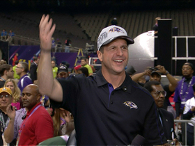 Watch: John Harbaugh: 'I think Jim is the best coach in the NFL'