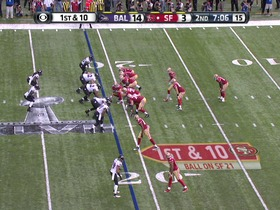 Watch: Ravens defense, INT