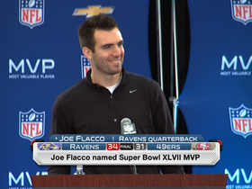 Watch: Joe Flacco: 'We kept the faith all along'