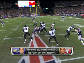 Video - Better QB for 2013: Baltimore Ravens Joe Flacco or San Francisco 49ers Colin Kaepernick?