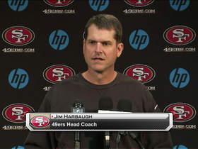 Video - Jim Harbaugh on Alex Smith