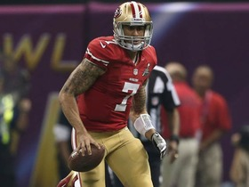 Video - 'Sound FX': San Francisco 49ers quarterback Colin Kaepernick uses his wheels
