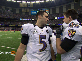 Video - Baltimore Ravens QB Joe Flacco: 'Tackle Ted Ginn'