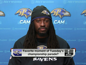 Video - Baltimore Ravens linebacker Dannell Ellerbe: 'I never experienced anything like that before'