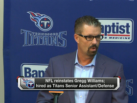 Video - Tennessee Titans senior assistant Gregg Williams: 'I am grateful for this opportunity'