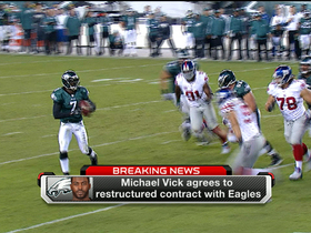 Video - Michael Vick, Philadelphia Eagles reach restructured deal