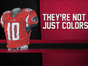 Watch: Evolution of the Falcons Colors