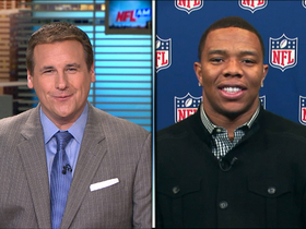 Ray Rice joins 'NFL AM'