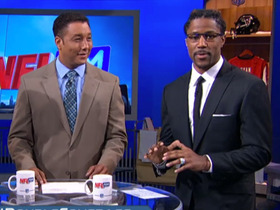 Video - Detroit Lions wide receiver Nate Burleson, Pittsburgh Steelers safety Ryan Clark make free agent pitches