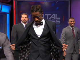 Video - Detroit Lions wide receiver Nate Burleson earns best dressed