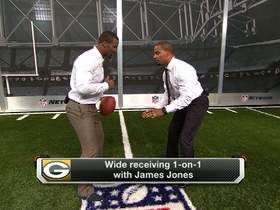 Video - Green Bay Packers wide receiver James Jones goes head-to-head with Darren Sharper