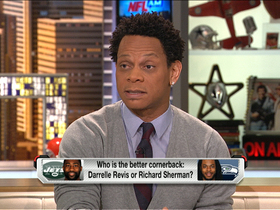 Video - Better cornerback: New York Jets cornerback Darrelle Revis or Seattle Seahawks cornerback Richard Sherman?
