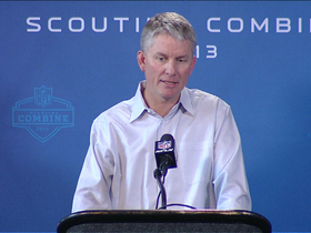 Video - San Diego Chargers coach Mike McCoy speaks at NFL Scouting Combine