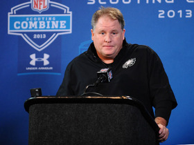 Video - Philadelphia Eagles head coach Chip Kelly uncertain on future of QB situation