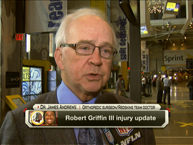 Video - Dr. James Andrews: Washington Redskins QB Robert Griffin III is 'way ahead of schedule'