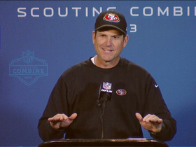 Video - San Francisco 49ers head coach Jim Harbaugh draws inspiration from Judge Judy
