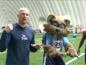 Video - Hasselbeck's tips for Rich Eisen's 40-yard dash