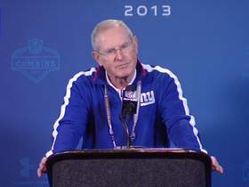 Video - New York Giants head coach Tom Coughlin addresses his future